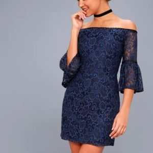 • BB Dakota • Danlyn Off the shoulder Lace Dress